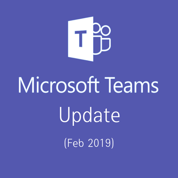 Teams update featured
