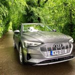 Swansway photo competition grey audi on road in woods