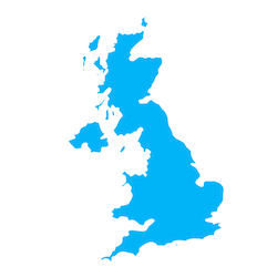 uk blue graphic