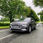 Swansway photo competition grey audi on road in trees