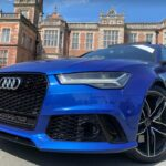 swansway photo competition blue audi