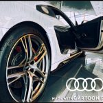 Swansway Photo competition white audi side view