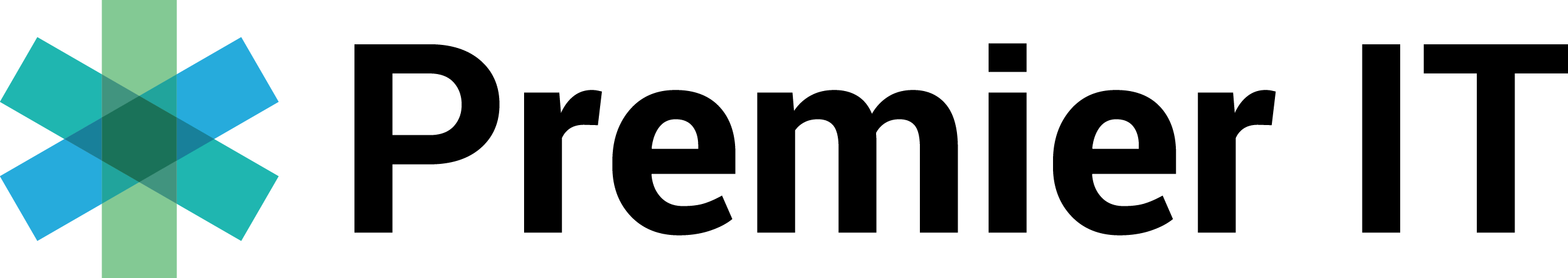 PremierIT black logo