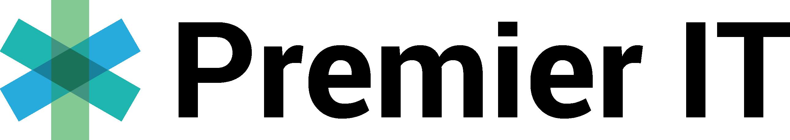 PremierIT black logo