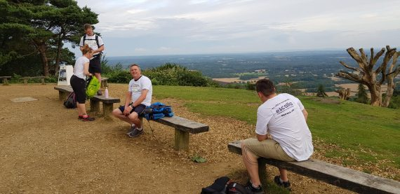 walk for sepsis 2019 at leith hill