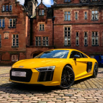 Yellow Audi Swansway Photo Competition
