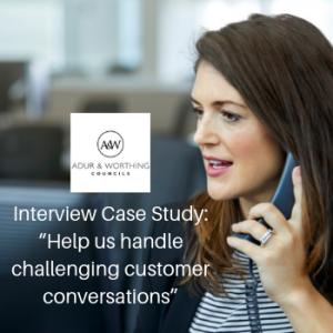 Link to Challenging Customer Conversations Interview