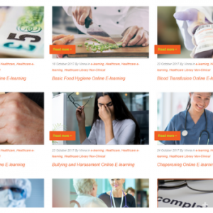 Healthcare E-learning Catalogue