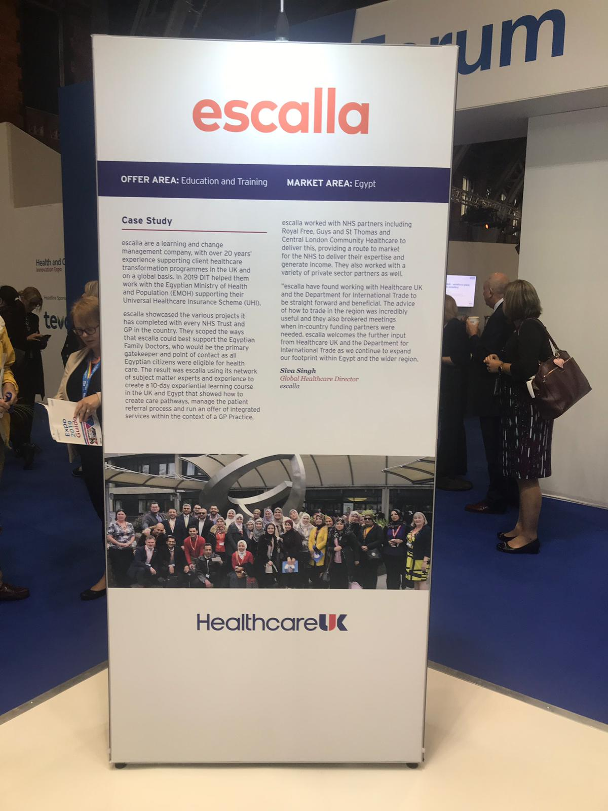 Healthcare UK Case Study escalla Egypt