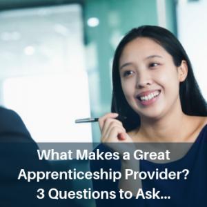 apprenticeship providers