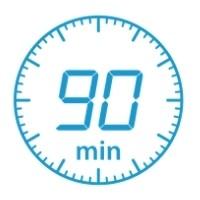 90 minute countdown clock