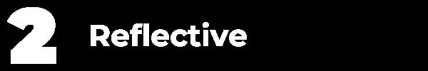 qualities marketing executive reflective
