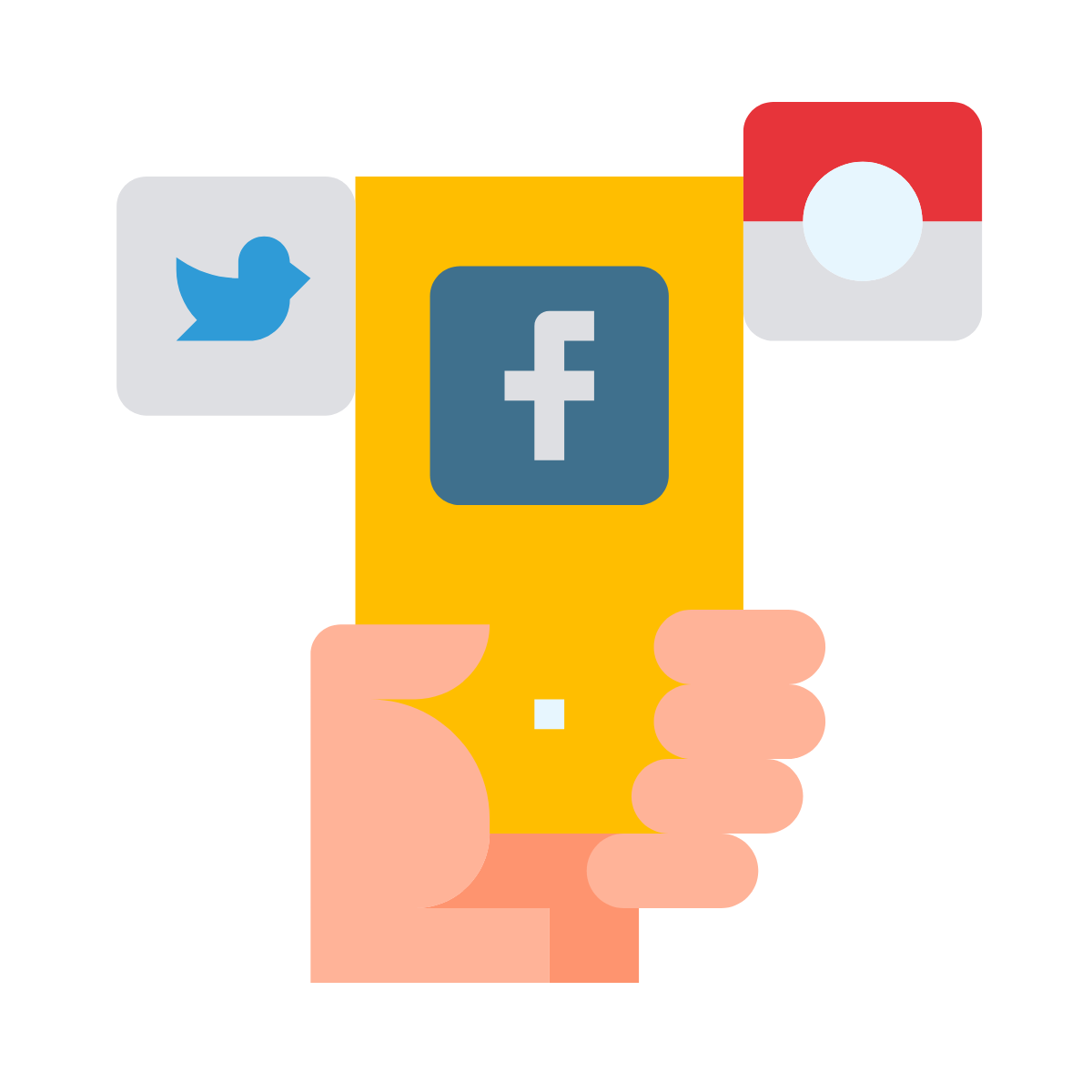 social media executive job icon