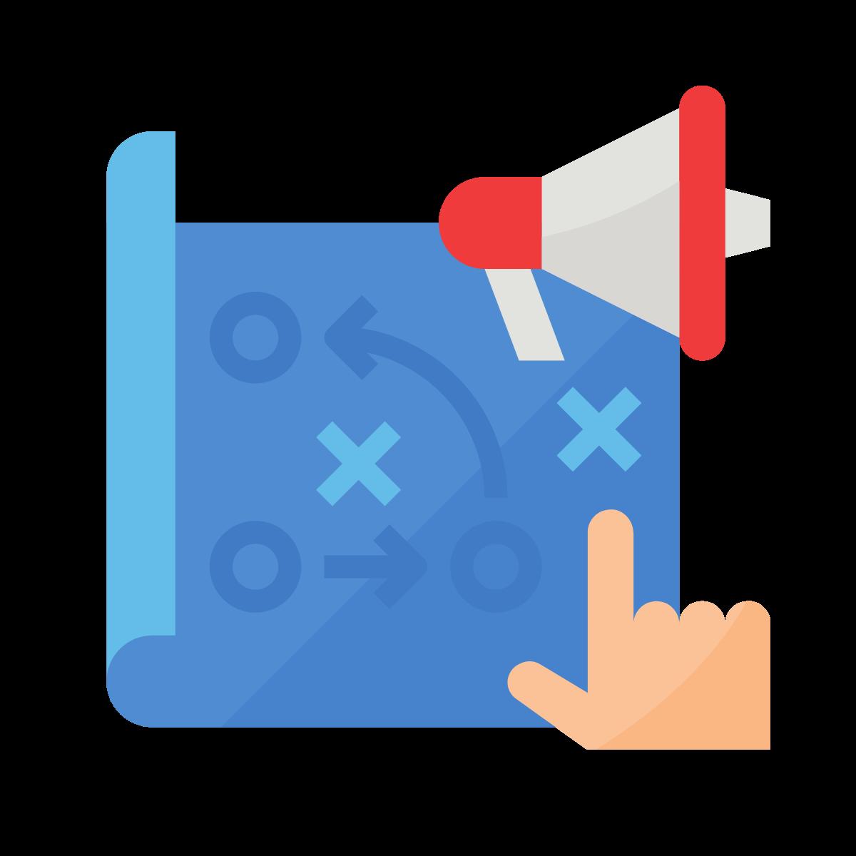 marketing executive job icon