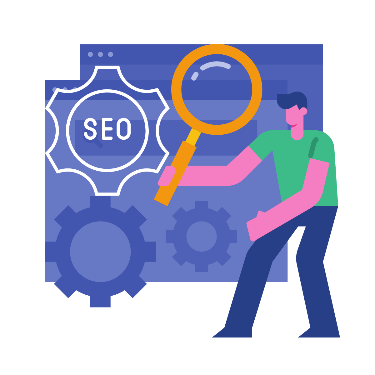 seo executive job icon