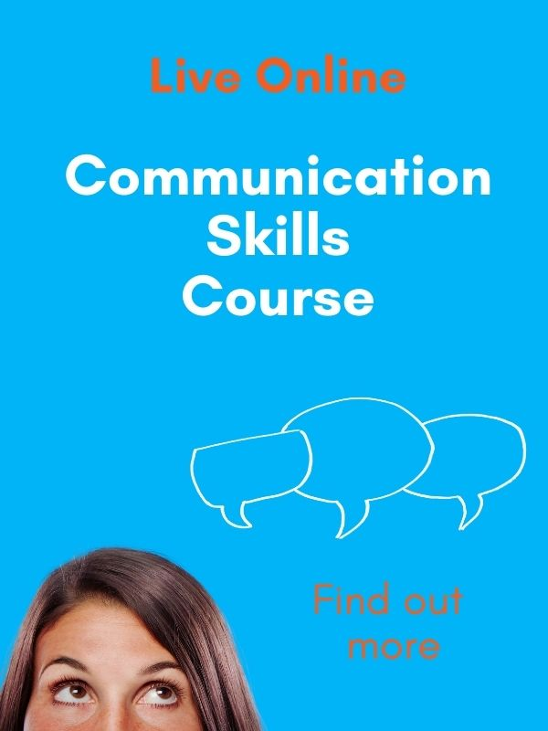 communications skills course advert