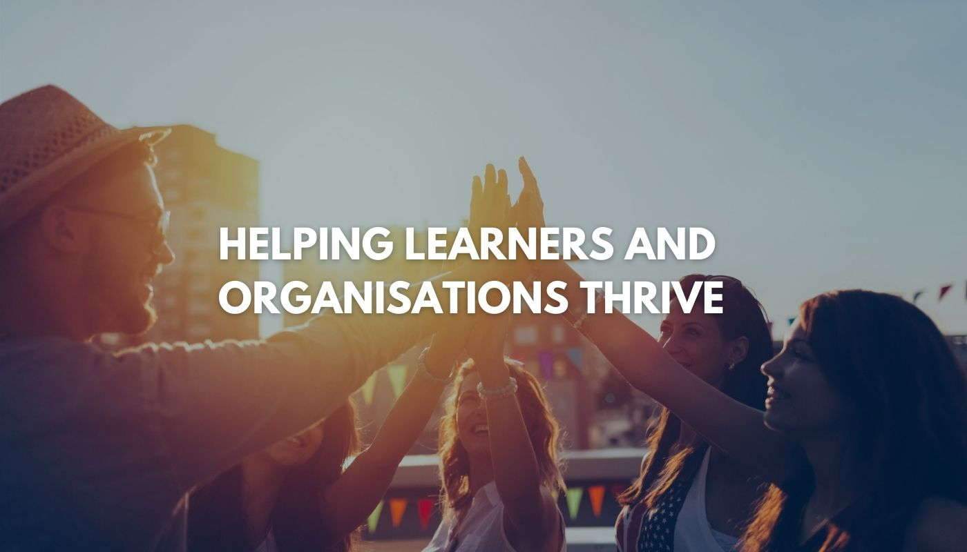 slogan homepage slider helping organisations and learners thrive
