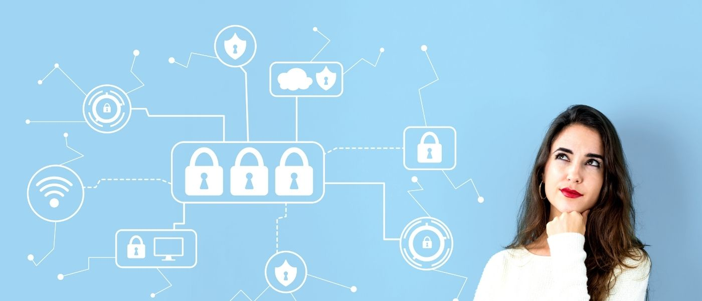 cyber security apprentice blue white