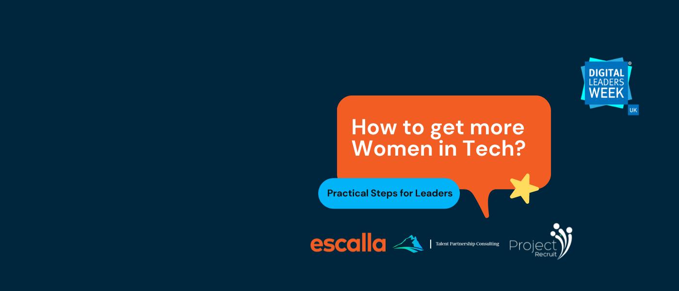 women in tech webinar recording page