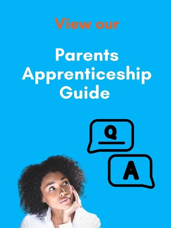 parents apprenticeship guide advert