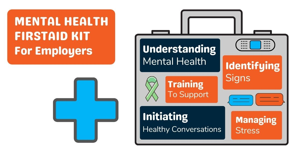 mental health first aid kit graphic
