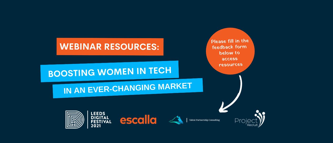 Leeds Digital Women in Tech webinar feedback